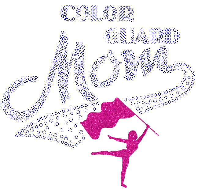 Color Guard Mom Combo - Select Color